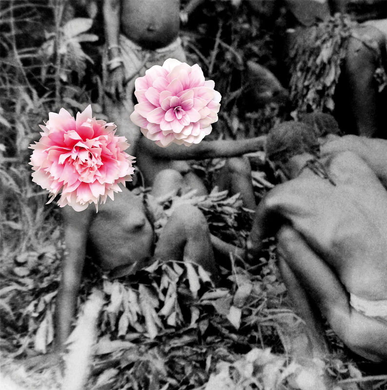 Owanto, 'Flowers XI', 2020, Photography, UV print on aluminium with cold porcelain flower, Sakhile&Me