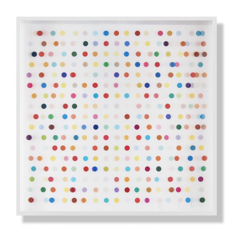 Damien Hirst, 'Mescaline -Spot Lenticular', 2014, Print, Digital Print on PETG plastic, Tate Ward Auctions