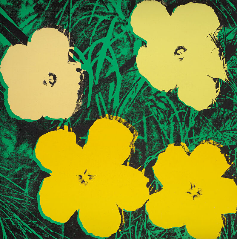 Andy Warhol, 'Flowers', 1970, Print, Screenprint in colours, on wove paper, the full sheet., Phillips