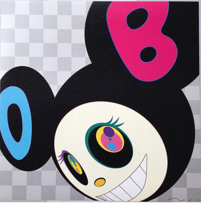 Takashi Murakami, 'AND THEN… BLACK', 2005, Print, Offset lithograph on paper, Marcel Katz Art