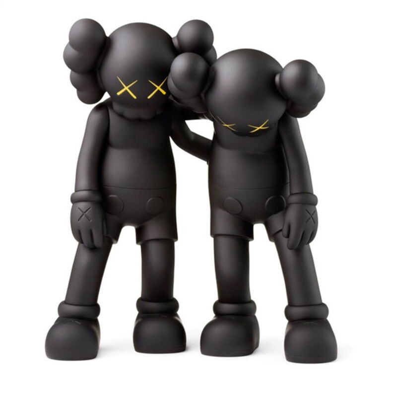 KAWS, 'Along The Way (Set of 3) Black, Brown and Grey', 2019, Sculpture, Painted cast vinyl, DECORAZONgallery