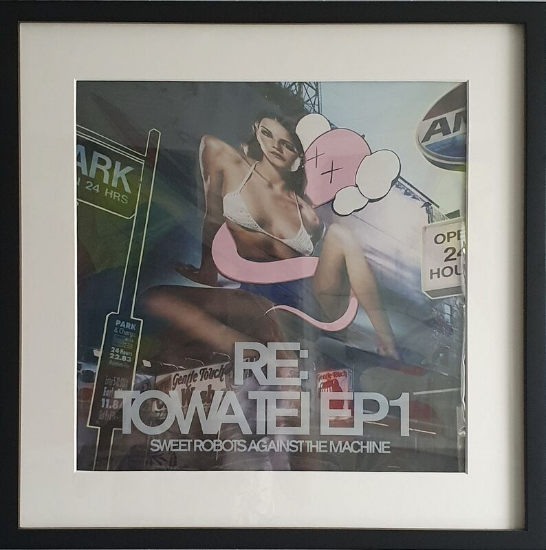 KAWS, 'RE: Towa Tei EP1 - Sweet Robots Against the Machine', 2003, Print, Offset lithograph in colors, Artsy x Tate Ward