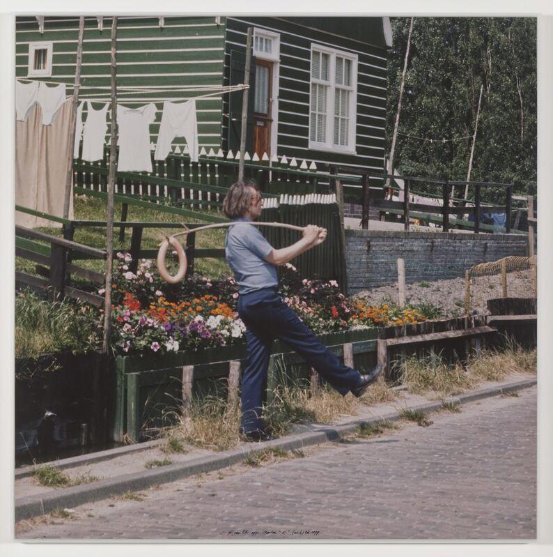 Ger van Elk, 'The Co-Founder of the Word O.K. - Marken', 1971-1999, Photography, Color photograph, Galerie Bob van Orsouw