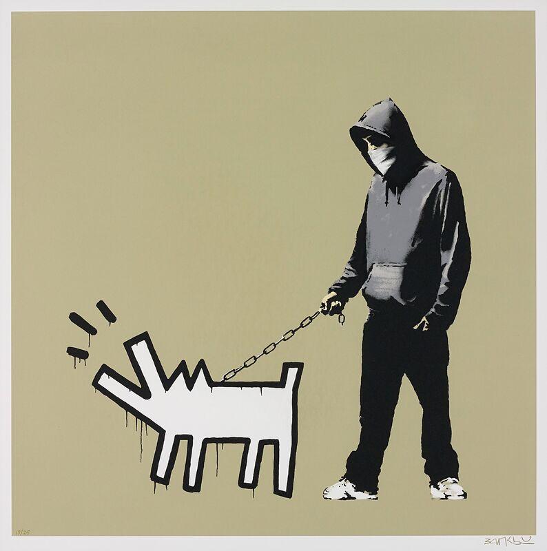 Banksy, 'Choose Your Weapon', 2010, Print, Screenprint on paper, Robin Rile Fine Art