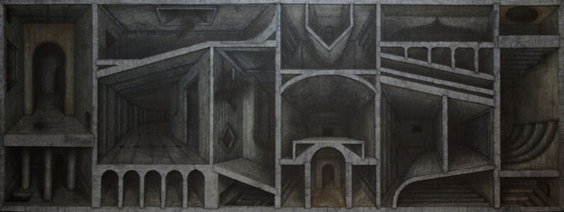Hong Buhm, 'the rooms of olivion', 2020