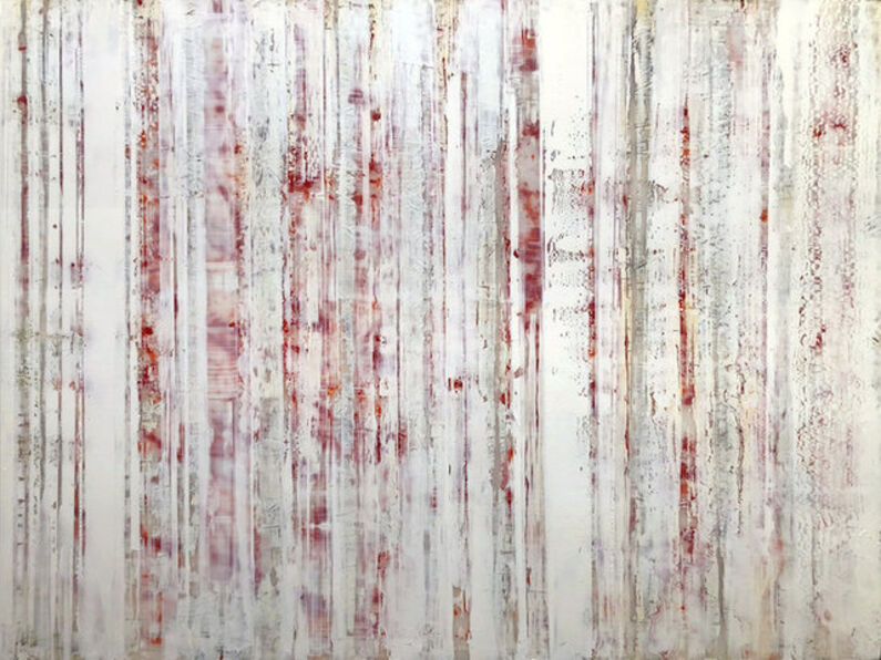 Greg Ragland, 'Parallel Layers 23, Red', 2019