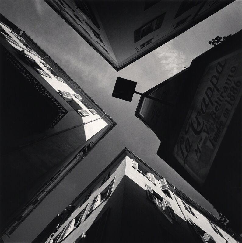Michael Kenna, 'La Trappa - Vieille, Nice, France.', 1996, Photography, Sepia toned silver gelatin print, Galeria de Babel