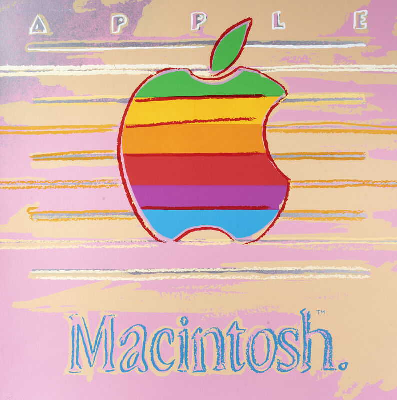 Andy Warhol, 'Apple (Macintosh), from Ads Series', 1985, Print, Screen print in colours on Lenox Museum Board, Tate Ward Auctions