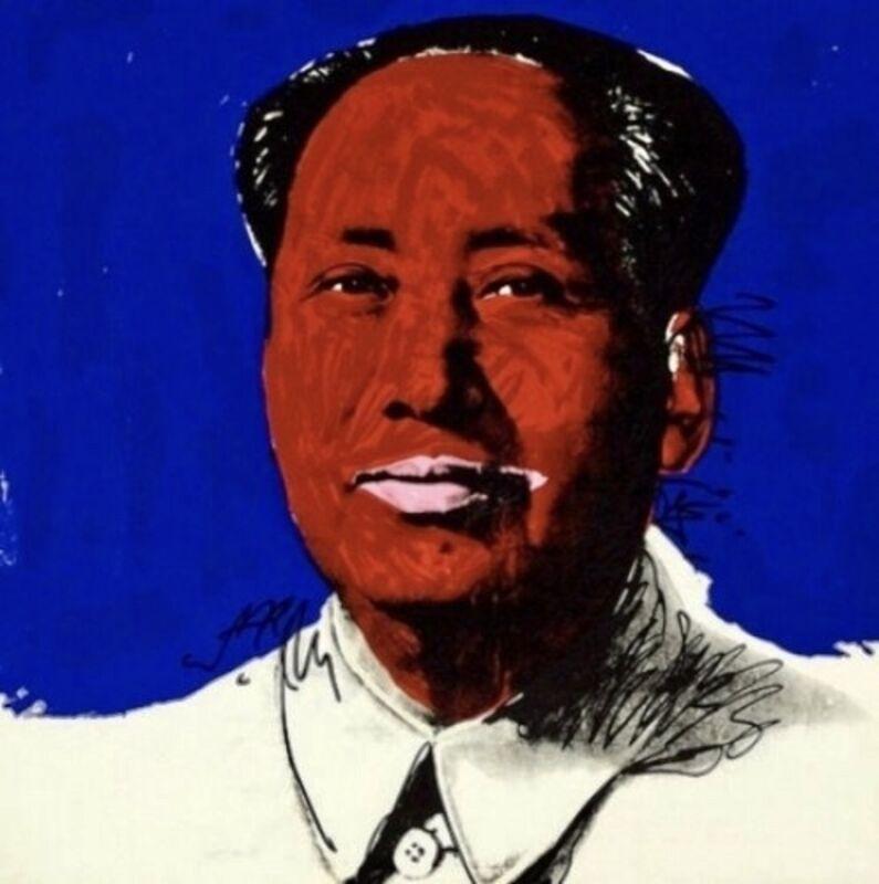 Andy Warhol, 'Mao', 1972, Print, Screenprint on Beckett High White Paper, Thou Art