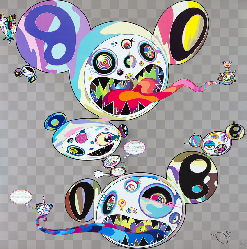 Takashi Murakami, 'Parallel Universe', 2016, Print, Offset lithograph with colours, on wove paper, Lougher Contemporary
