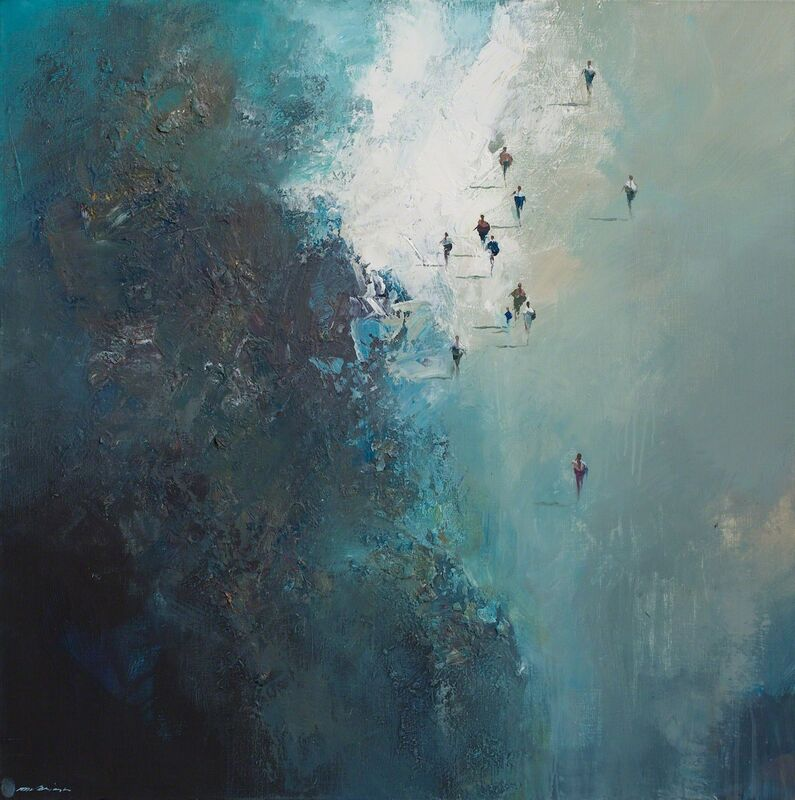 Mel Brigg, 'The Arrivals ', 2011-2014, Painting, Mixed media, Wentworth Galleries