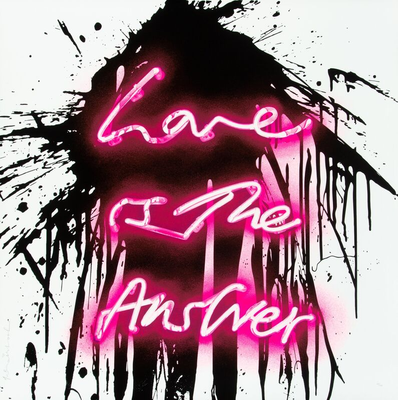 Mr. Brainwash, 'Love On', 2018, Print, Screenprint in colors on paper, Heritage Auctions