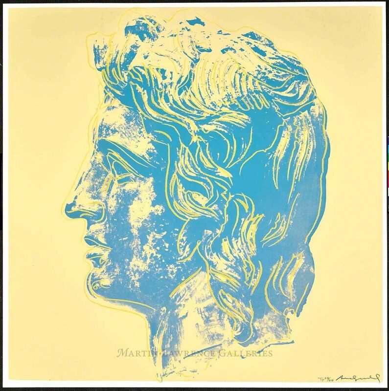 Andy Warhol, 'Alexander the Great, 1982 (#291)', 1982, Print, Unique trial-proof hand-signed screenprint, Martin Lawrence Galleries
