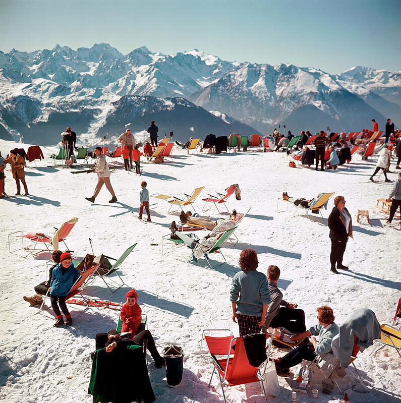 Slim Aarons, 'Verbier Vacation', 1964, Photography, C-print, Provocateur Gallery