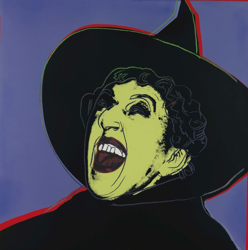 Andy Warhol, 'The Witch, from Myths', 1981, Print, Screenprint in colors with diamond dust on Lenox Museum Board, Christie's