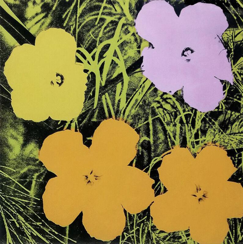 Andy Warhol, 'Flowers (FS II.67)', 1970, Print, Screenprint on paper, David Benrimon Fine Art