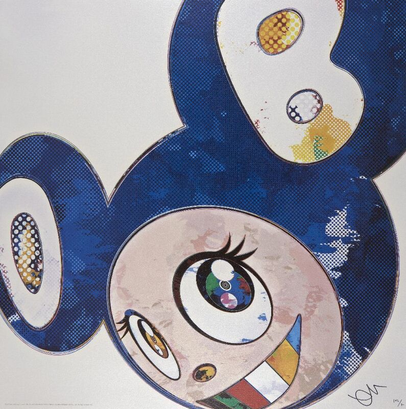 Takashi Murakami, 'And Then x 6 (Lapis Lazuli: The Superflat Method)', 2013, Print, Offset lithograph in colours on wove, Roseberys