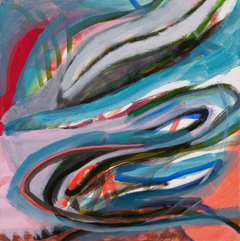 Bill Scott, 'Running between Weeds', 2017, Painting, Oil on canvas, Hollis Taggart