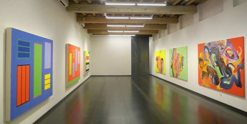 'H-H. Halley meets Hortal', installation view