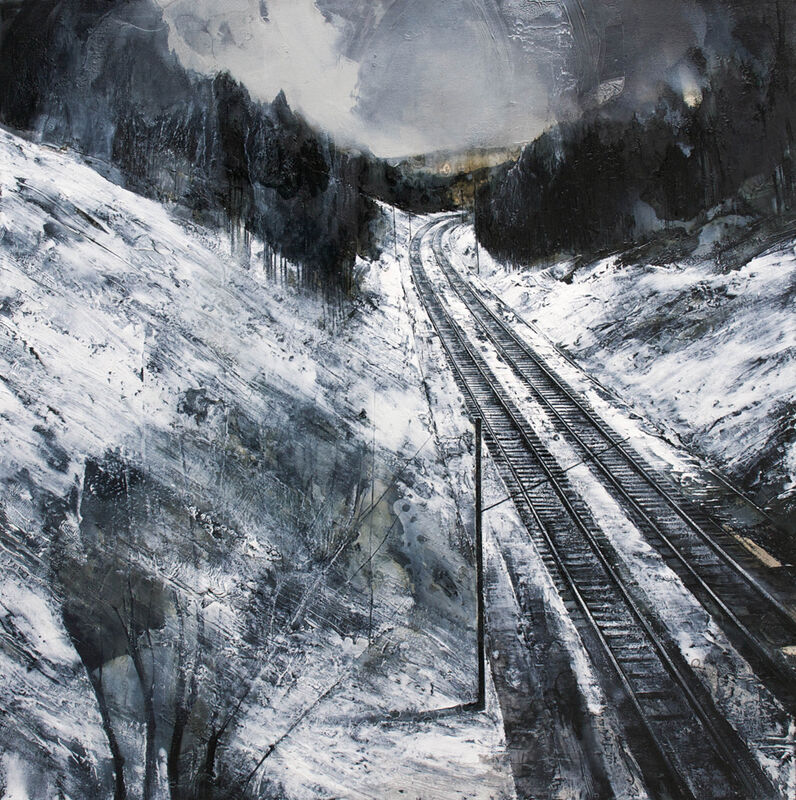 Mark Thompson, 'The Slow Pass of Hours', 2014, Painting, Oil on canvas, G. Gibson Gallery