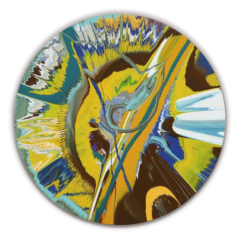 Damien Hirst, 'Beautiful Bum Runs Painting ', 2007, Painting, Household gloss on canvas, De Jonckheere