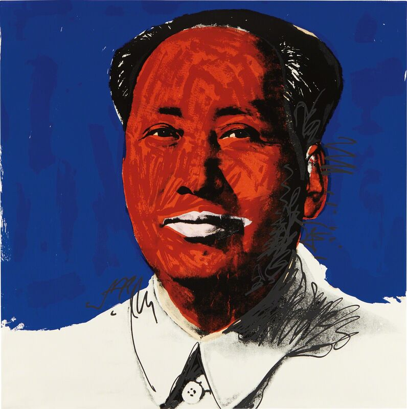 Andy Warhol, 'Mao', 1972, Print, Screenprint in colors, on Becket High White paper, the full sheet, Phillips