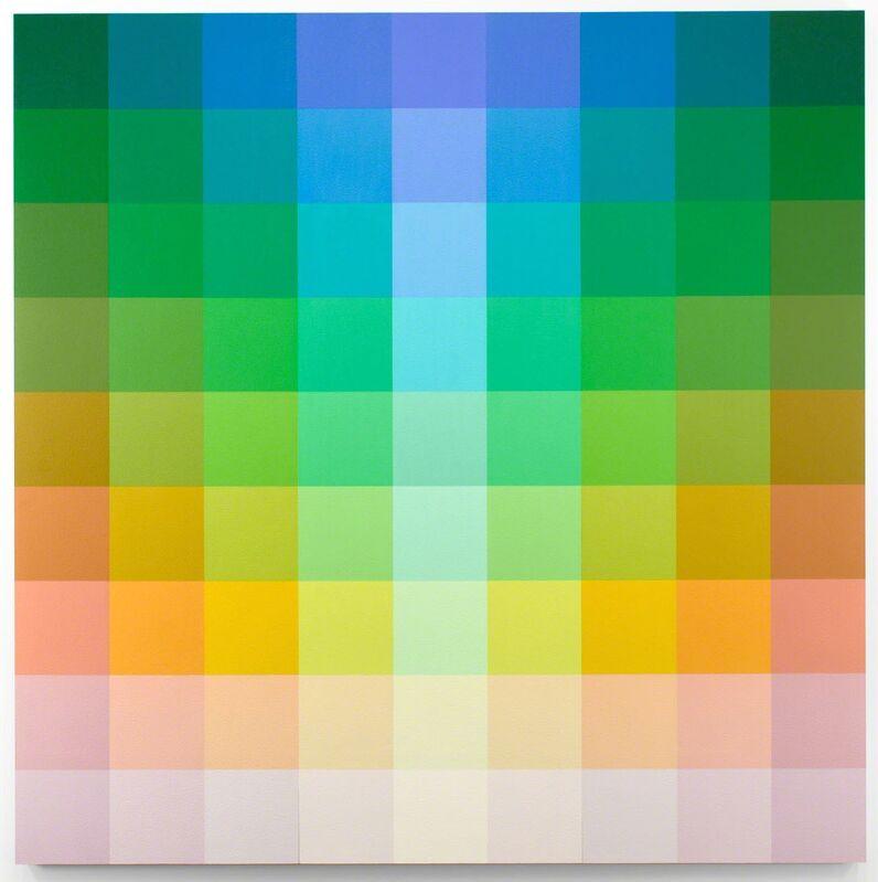 Robert Swain, 'Untitled, 9x9-6X1', 2015, Painting, Acrylic on birch panel, Minus Space