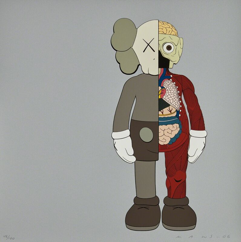 KAWS, 'Dissected Companion', 2006, Print, Screenprint in colors, on heavy wove paper, the full sheet, Phillips