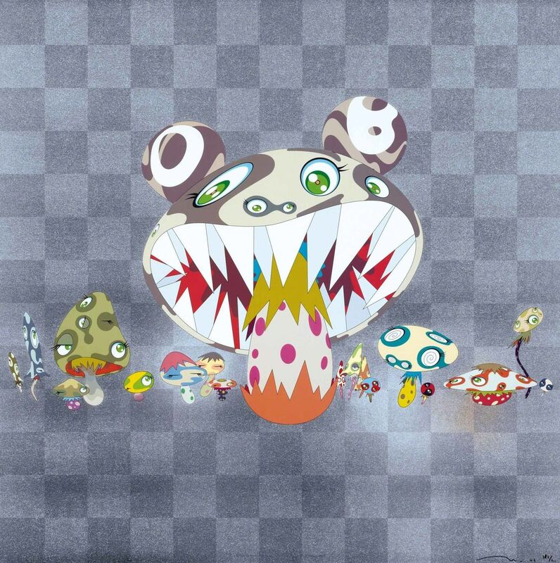 Takashi Murakami, 'Here Comes Media', 2010, Print, Offset print with cold stamp and spot varnish, Martin Lawrence Galleries