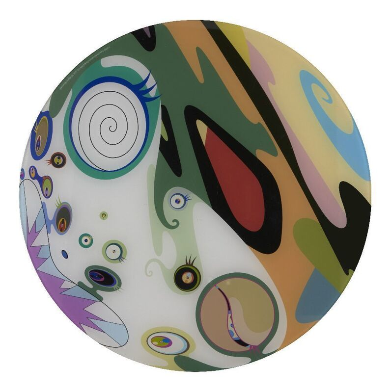 Takashi Murakami, 'Brooklyn Museum VIP Ball placemat', 2008, Print, Offset lithograph in colours with plexiglass, Roseberys
