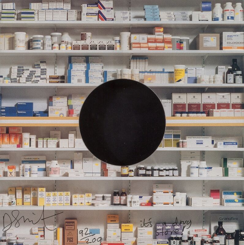 Damien Hirst, 'Pharmacy', 1992, Print, Offset lithograph in colors on 4-ply board, Heritage Auctions