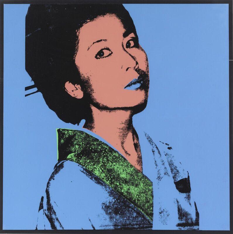 Andy Warhol, 'Kimiko', 1981, Print, Silkscreen, Okker Art Gallery