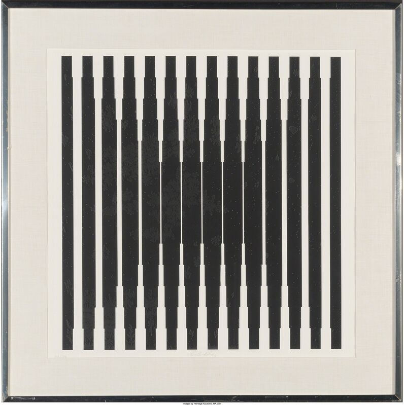 Victor Vasarely, 'Bora', 1968, Print, Screenprint on wove paper, Heritage Auctions