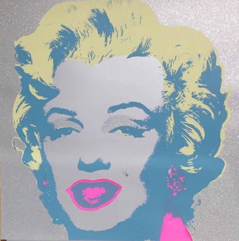 Andy Warhol, 'Diamond Dust Marilyn: Sunday B. Morning', 1968, Print, Screen-print and Diamond Dust on Lennox Museum Board, Thou Art