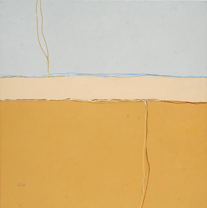 Joe Piccillo, 'Blue and Yellow', 2013, Painting, Acrylic on canvas, Susan Eley Fine Art
