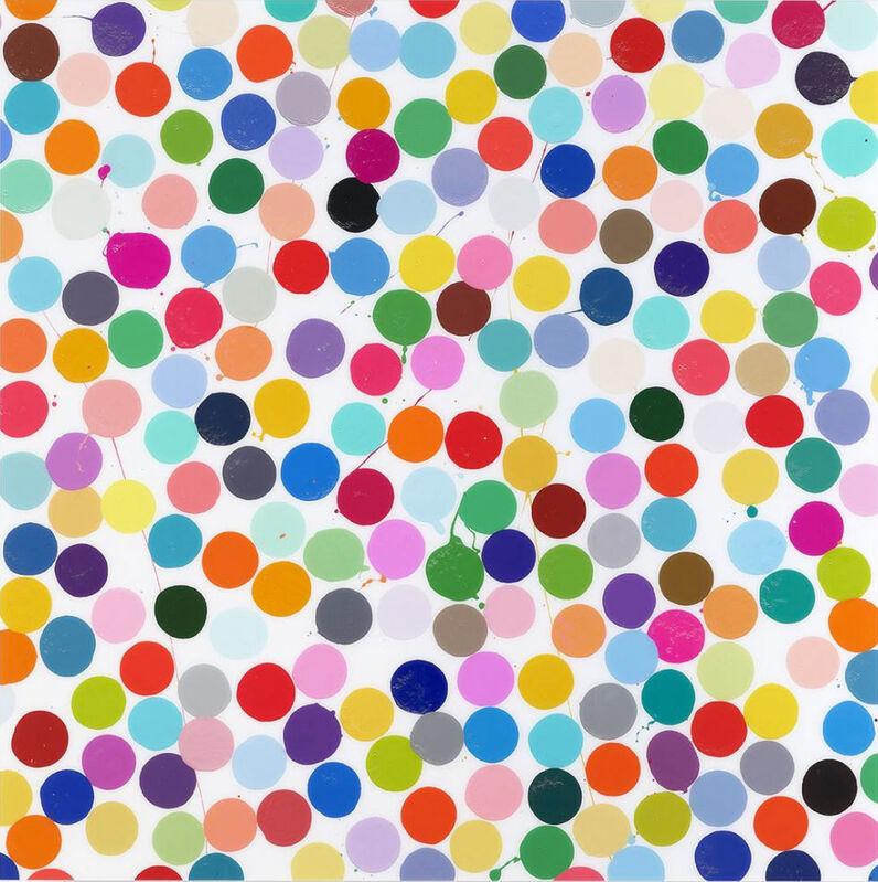 Damien Hirst, 'Claridges (H5-4)', 2018, Print, Diasec mounted Giclée print on aluminum panel mounted to an aluminum strainer, Kumi Contemporary / Verso Contemporary
