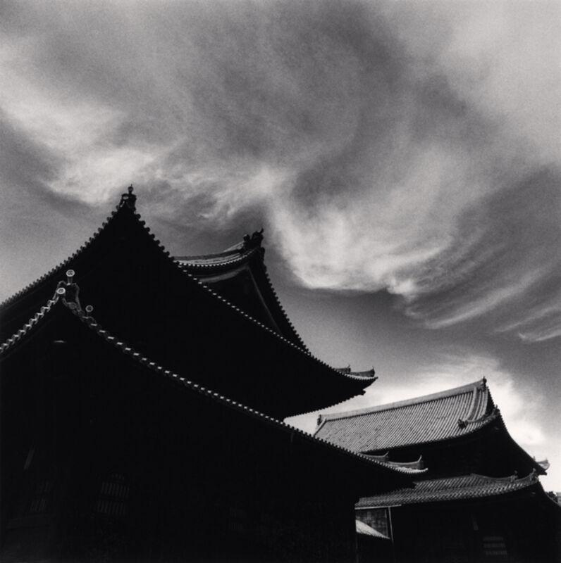 Michael Kenna, 'Afternoon Clouds, Myoshinji Temple, Kyoto, Honshu, Japan', 2001, Photography, Sepia toned silver gelatin print, Ira Stehmann Fine Art Photography