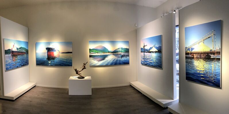 "Valerie Raynard, ""Harbour"", installation view"