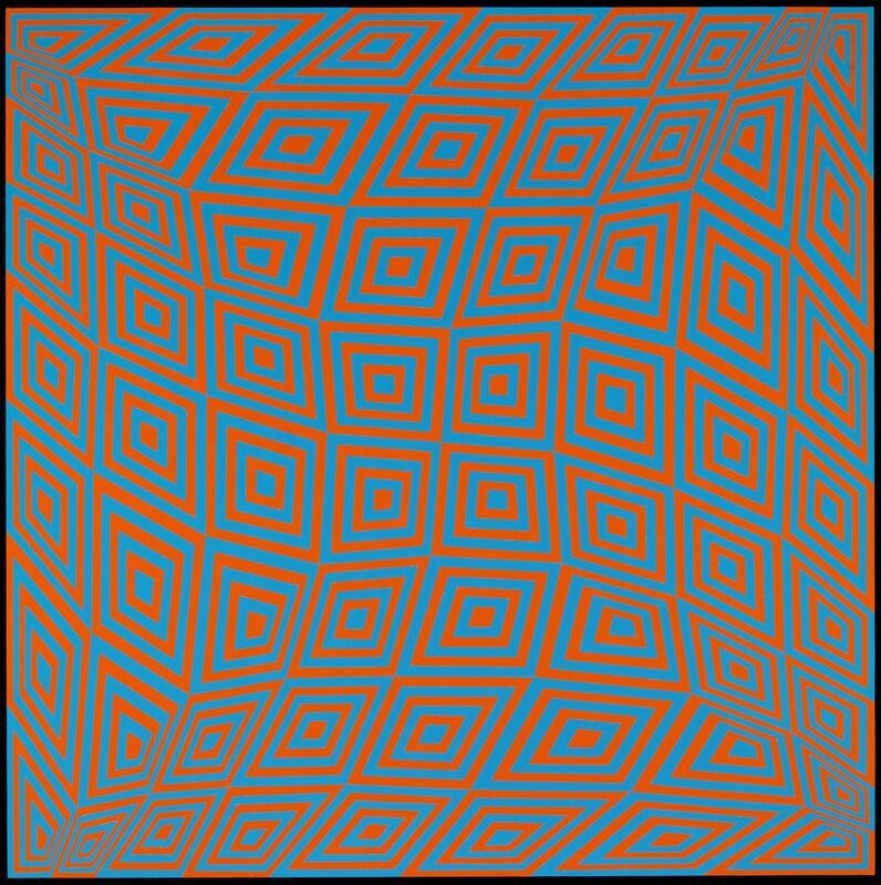 Jim Isermann, 'Untitled', 2010, Mixed Media, Acrylic latex on canvas over wood panel, Corvi-Mora