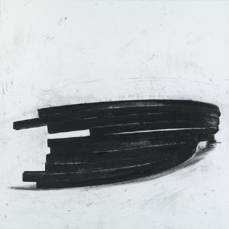 Bernar Venet, 'Effondrement Arcs III', 2013, Print, Polymer gravure & etching, SPONDER GALLERY