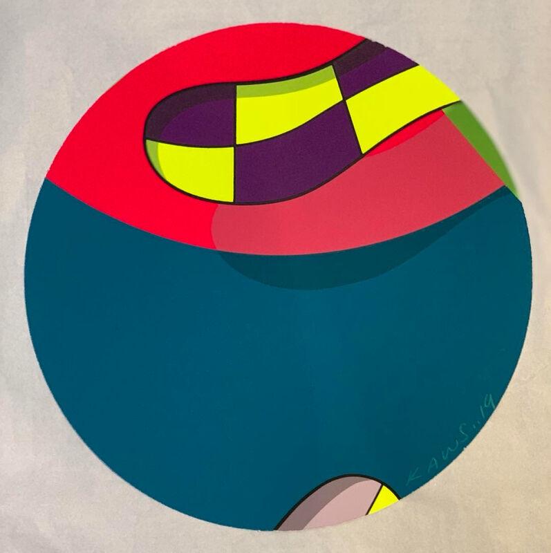 KAWS, 'BROOKLYN MUSEUM 1', 2019, Print, Screen print, handmade, Dope! Gallery