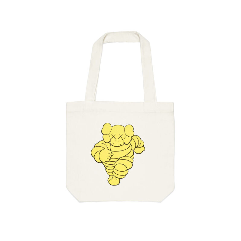KAWS, 'KAWS x NGV Chum Tote Bag (Yellow) ', 2019, Design/Decorative Art, Cotton, Curator Style