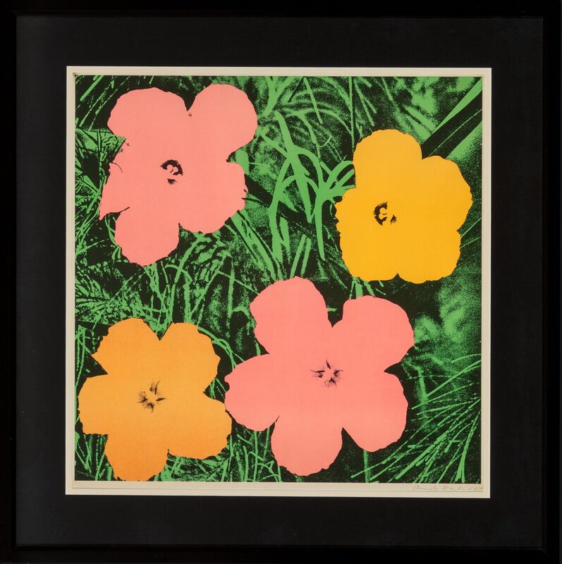 Andy Warhol, 'Flowers', 1964, Print, Offset lithograph in colors on paper, Heritage Auctions