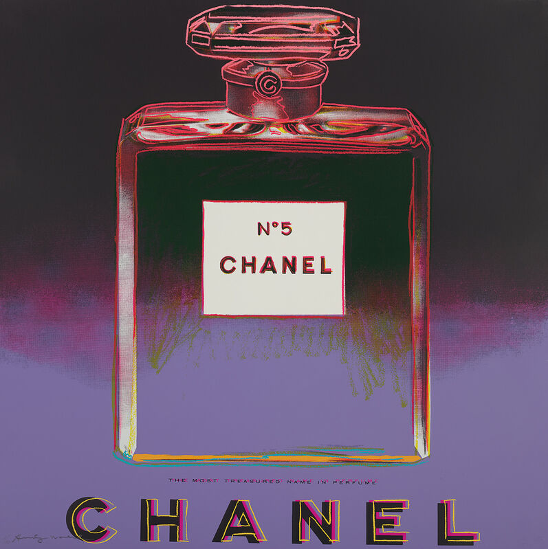 Andy Warhol, 'Chanel, from Ads', 1985, Print, Screenprint in colours, on Lenox Museum Board, the full sheet., Phillips