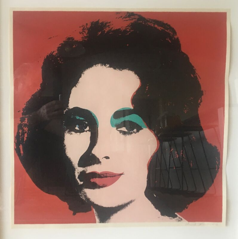 Andy Warhol, 'Liz (II.7)', 1964, Print, Offset lithograph on paper, Puccio Fine Art