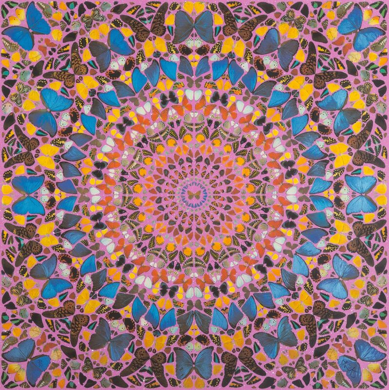 Damien Hirst, 'Cathedral Print, Palais des Papes', 2007, Print, Screenprint in colors with glazes and diamond dust on wove paper, Heritage Auctions