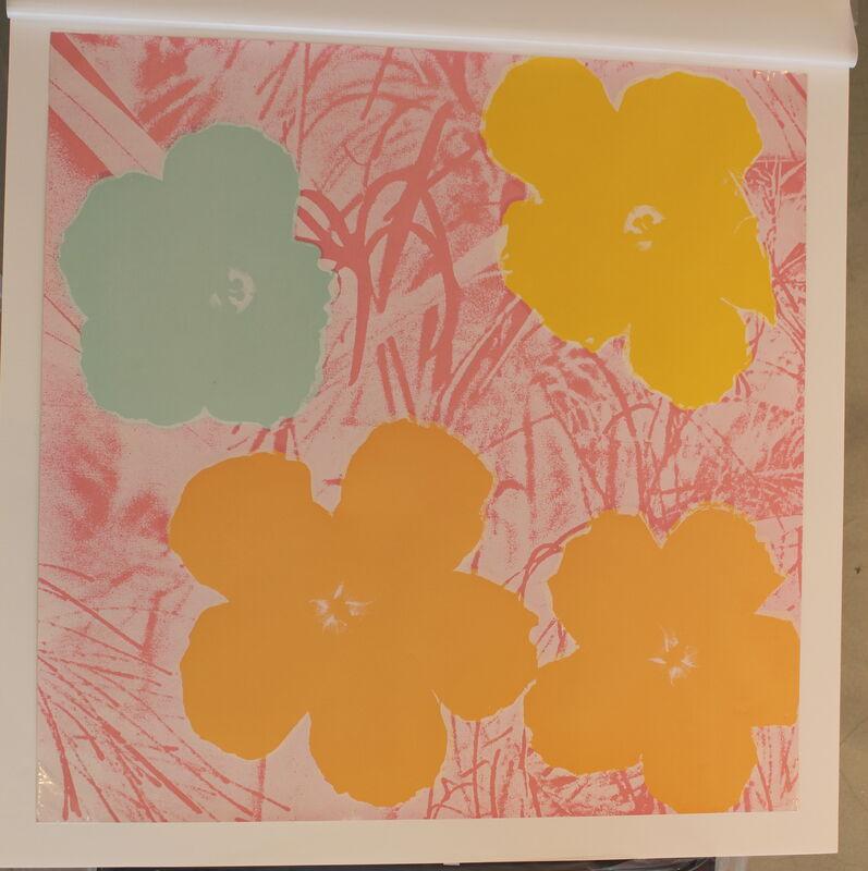 Andy Warhol, 'Flowers (FS II.70)', 1970, Print, Screenprint on Paper, Revolver Gallery
