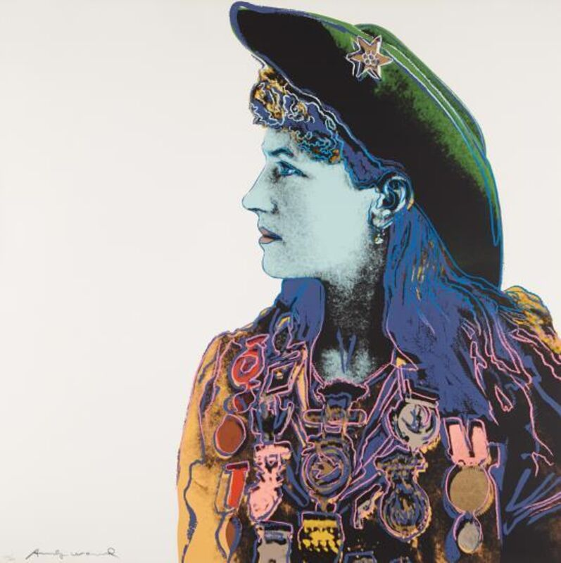 Andy Warhol, 'Annie Oakley, from Cowboys and Indians', 1986, Print, Screenprint in colors, on Lenox Museum Board, Upsilon Gallery