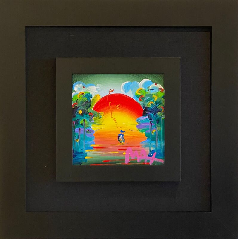 Peter Max, 'Better World ', 2018, Painting, Acrylic on canvas, Off The Wall Gallery