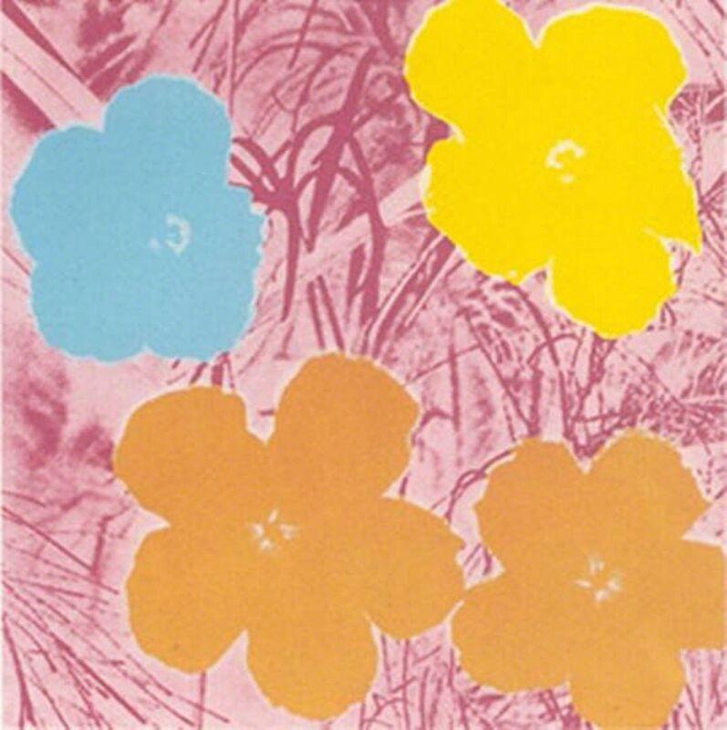 Andy Warhol, 'Flowers (II.70)', 1970, Print, Screenprint, Puccio Fine Art